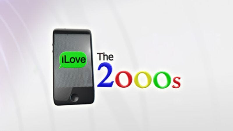 "Illustration for article titled I Love The 2000s: ""2000""/""2001"""