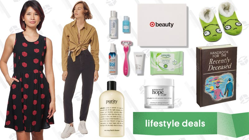 Illustration for article titled Tuesday's Best Lifestyle Deals: ThinkGeek, philosophy, Urban Outfitters, Target Beauty, and More