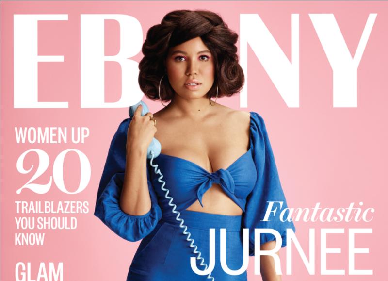 Ebony Magazine's March 2017 cover