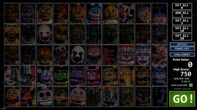 Ultimate Custom Night Will Keep Five Nights At Freddy's Fans