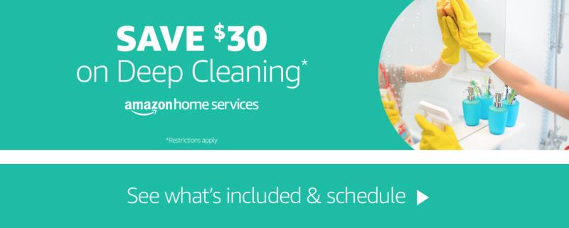 $30 de descuento en una limpieza a fondo