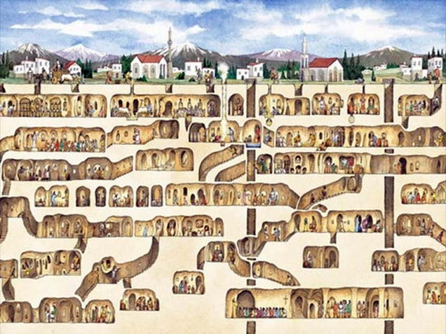 9 Extraordinary Underground Cities