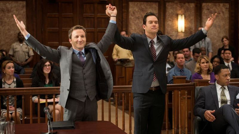 """Illustration for article titled Franklin & Bash - """"Coffee And Cream""""/""""Dead Or Alive"""""""