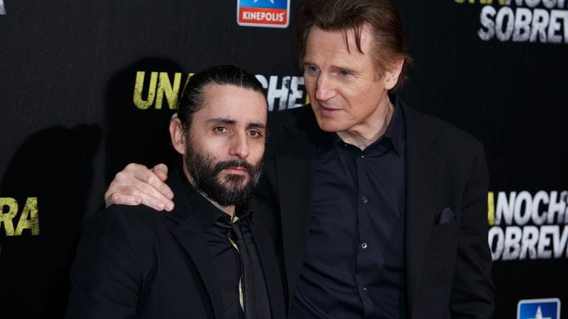 Jaume Collet-Serra and Liam Neeson (Photo: Getty Images)