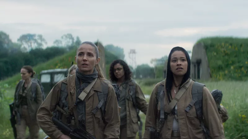The survey team from Annihilation.
