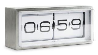 Illustration for article titled This Stainless Steel Alarm Clock Can Survive A Morning Mauling