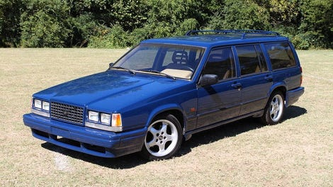 At 1 200 Is This 1991 Volvo 740 Turbo Wagon The Winter