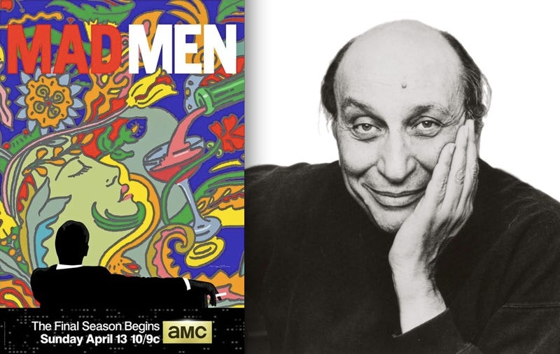 Illustration for article titled Mad Men-era Legend Milton Glaser Designed the New Posters for Mad Men