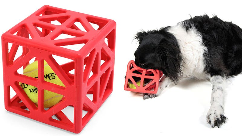 Illustration for article titled Will This Caged Ball Toy Stimulate a Dog's Brain or Just Drive It Insane?