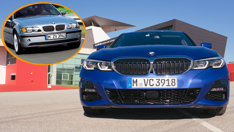 That Weird Notch On The 2019 Bmw 3 Series Is Actually A Nod To The