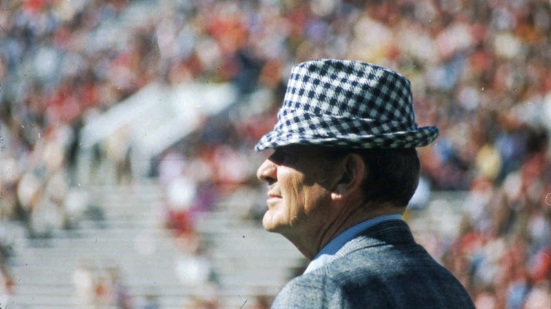 Illustration for article titled This 9/11, Bama Wants You To Make Your Profile Pic Bear Bryant's Hat