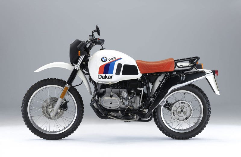"""Has any bike embodied the spirit of motorcycling better? Not exactly """"compact"""" in its day, but still. (Photo Credit: BMW)"""