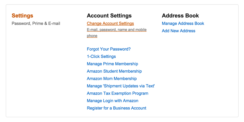 You Can Now Use Two-Step Authentication on Amazon—Here's How