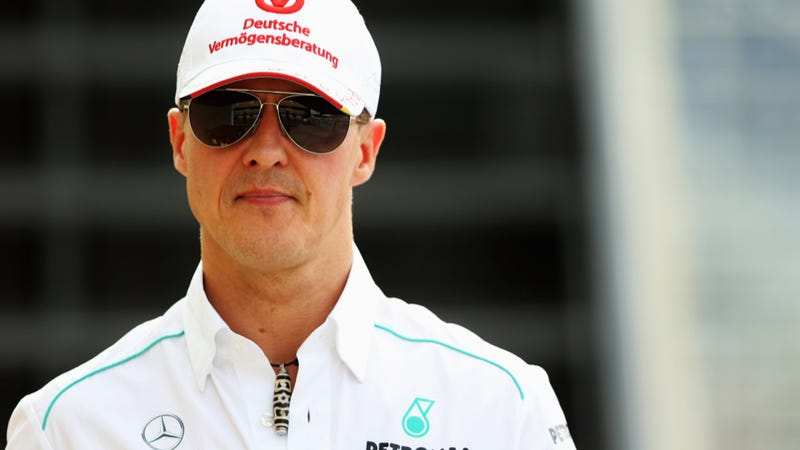 Illustration for article titled F1 Champ Michael Schumacher Reportedly 'Out Of Coma'
