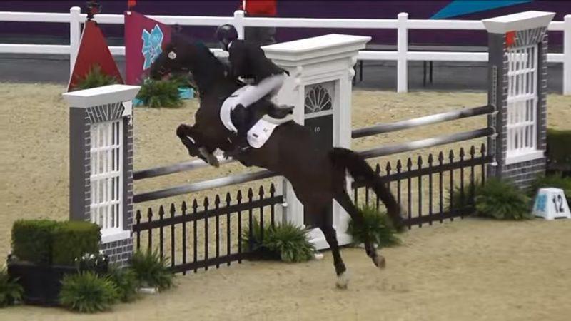 London 2012 Olympic Show Jumping (Screenshot: YouTube)