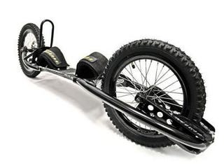 Illustration for article titled The Dirtsurfer: New Bike And Skateboard Hybrid Thing