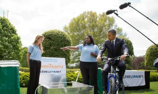 Illustration for article titled Black Teens Create Bicycle Powered Water Filtration System To Provide Clean Drinking Water