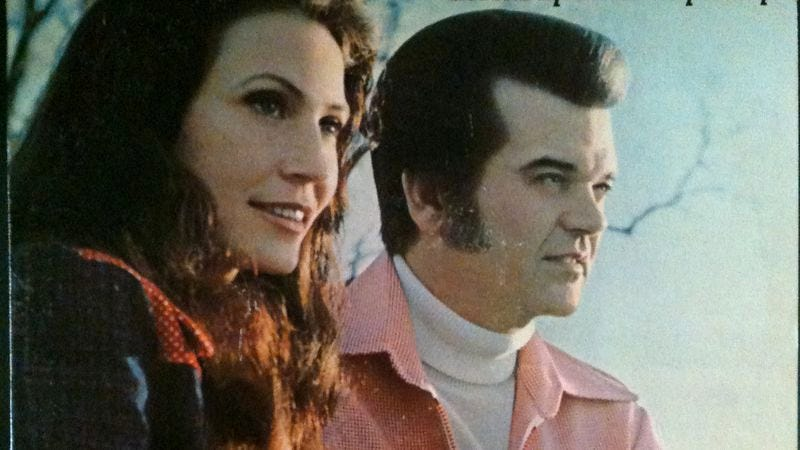 Illustration for article titled No one does devastating heartbreak like Conway Twitty and Loretta Lynn