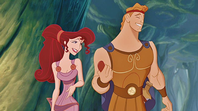 A still from Hercules, which is 19 years old this week. Image: Disney