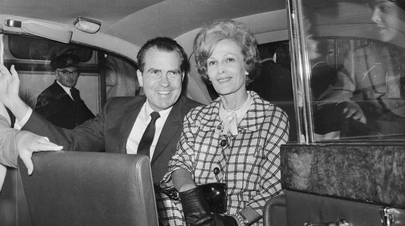 Illustration for article titled Is It Time We Address Richard Nixon's Alleged Abuse of His Wife and First Lady Patricia Nixon?