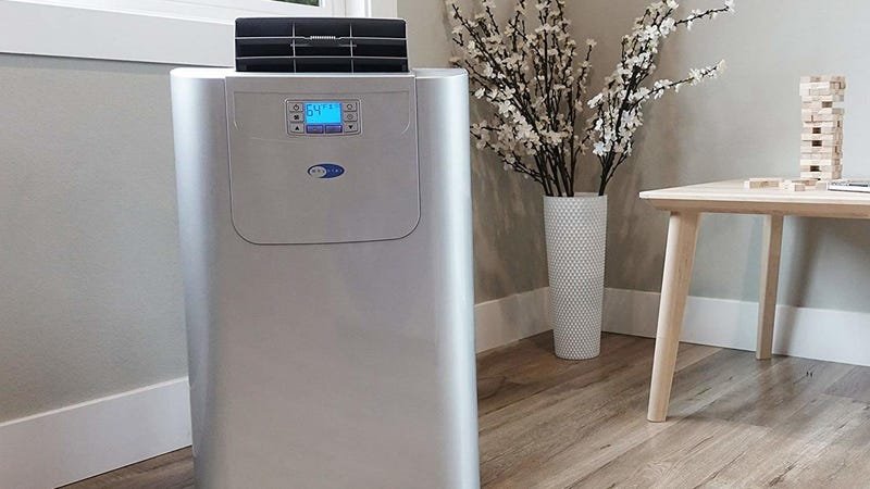 ac heater unit whynter elite arc122dhp 12000 btu dual hose portable air conditioner and heater 350 amazon image this acheating unit is 100 off while it lasts