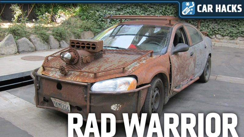 Illustration for article titled How To Turn A Chrysler Sebring Into A 'Mad Max' Road Warrior