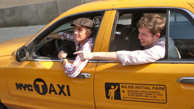 Illustration for article titled Top Gear's Richard Hammond Drove Me Around New York In His Taxi Cab