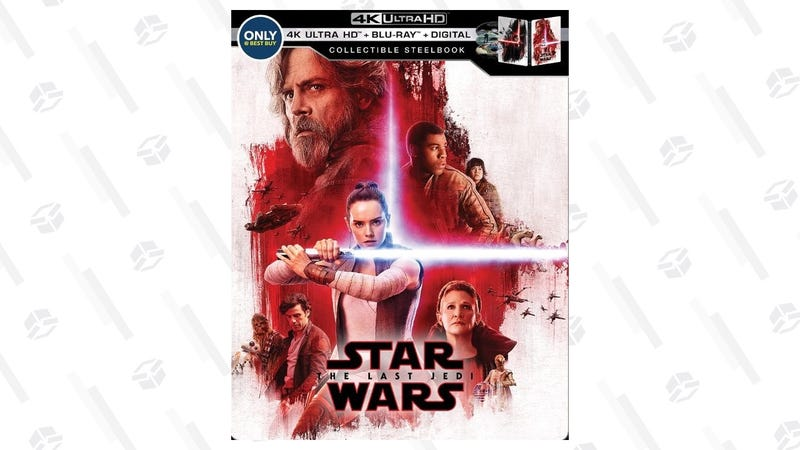Star Wars: The Last Jedi 4K Steelbook | $26 | Daily Steals | Promo code KJSWJEDI