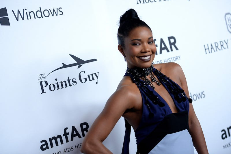 Image of Gabrielle Union (wearing makeup) via Getty