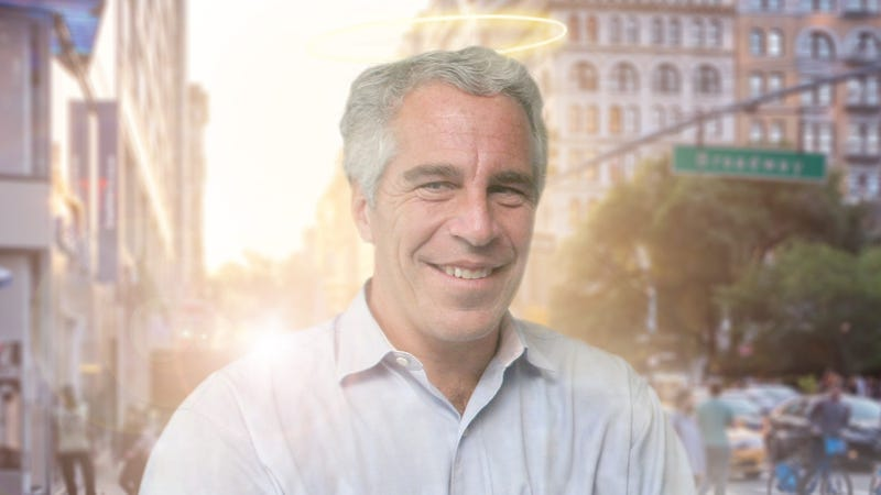 Jeffrey Epstein Free To Visit Earth 6 Days A Week Under Terms Of Sweetheart Afterlife Deal