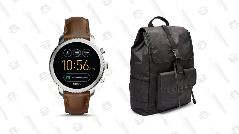 Fossil 40% Off SaleGen 3 Smartwatch | $180 | FossilBuckner Rucksack Backpack | $101 | Fossil
