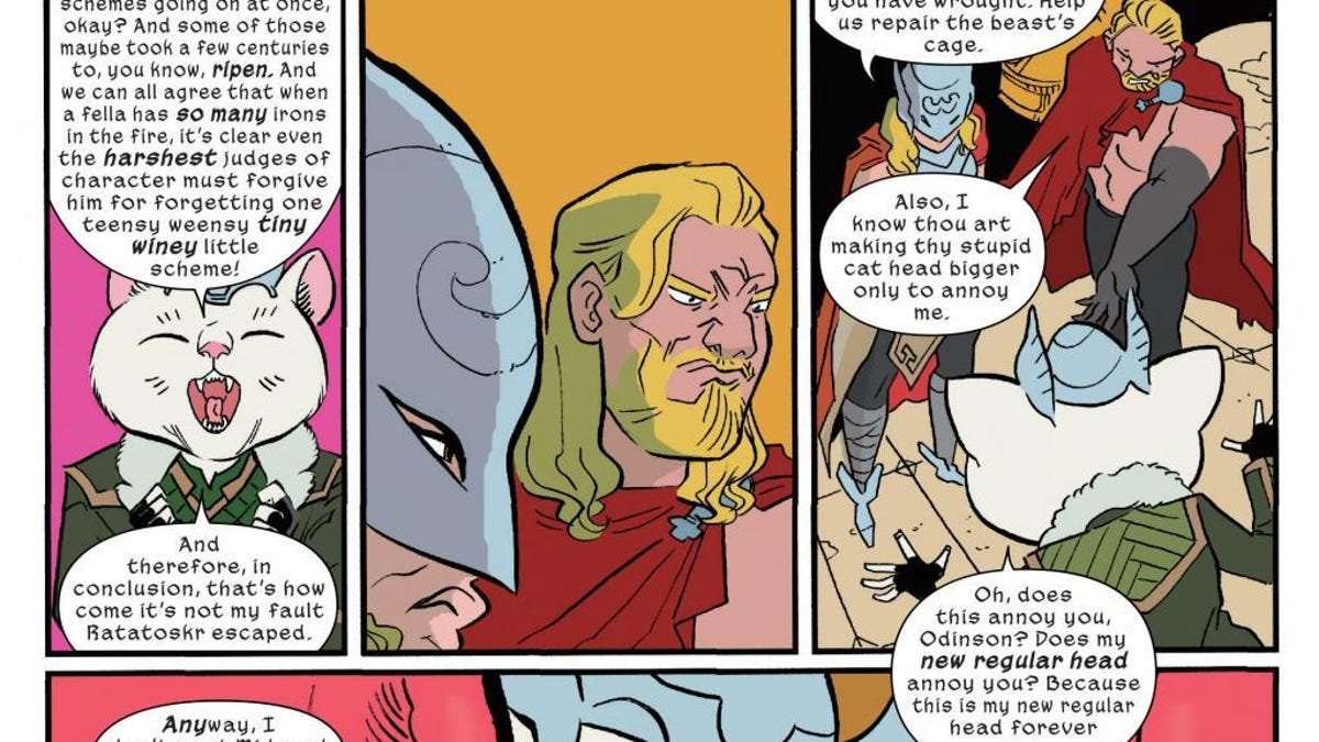 The Very Best Moment from The Unbeatable Squirrel Girl #8