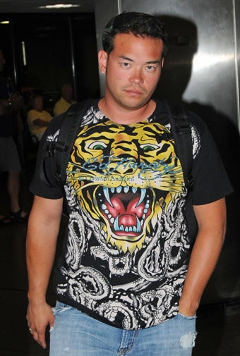 Illustration for article titled Jon Gosselin Parties With Unlikely Peeps; Queen To Watch Brüno?