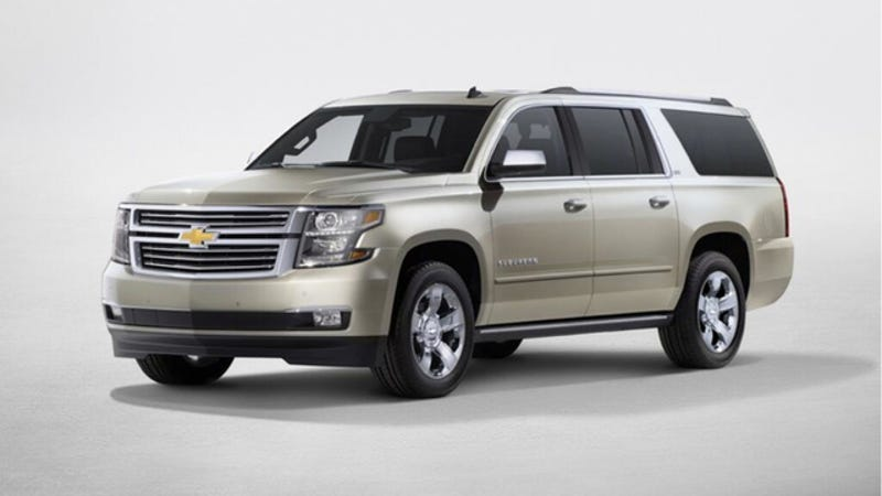 Illustration for article titled This Is The All New 2015 Chevy Suburban