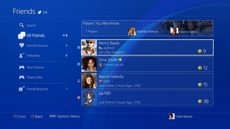 How to Add Friends on Sony's PlayStation 4
