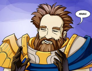 Illustration for article titled Fan's Backstory For Heroes Of The Storm Is Better Than The Real Thing