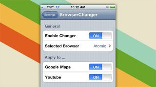 Illustration for article titled Browser Changer Allows You to Set Your Default Browser on Your Jailbroken iDevice