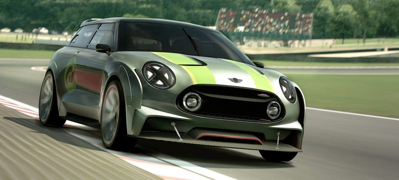 Illustration for article titled I So Wish The Mini Clubman Gran Turismo Concept Was Real