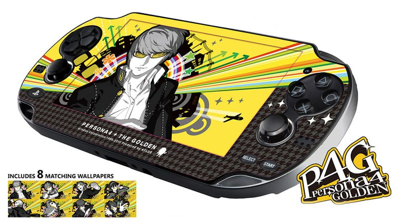 Illustration for article titled Preordering Persona 4 Golden Makes Your Vita Look So Pretty