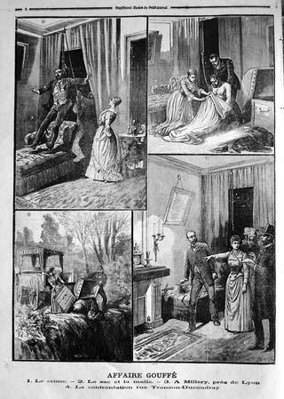 Illustration for article titled Murder in 19th Century France and the Birth of Forensic Science