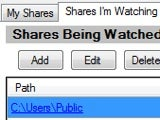 Illustration for article titled ShareWatcher Monitors Shared Folders, Notifies You When Someone Accesses Them