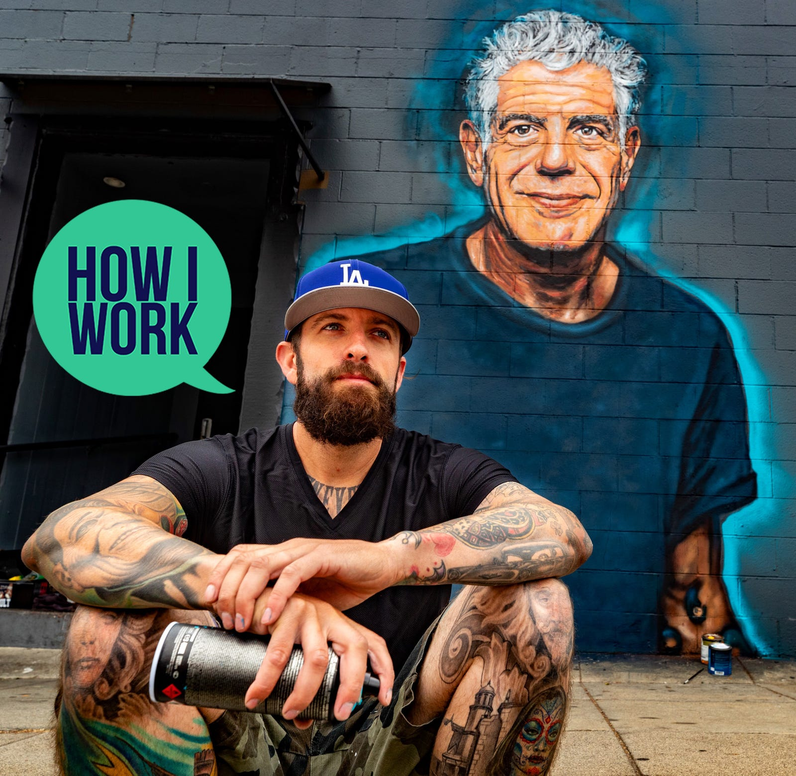 I'm Muralist Jonas Never, And This Is How I Work