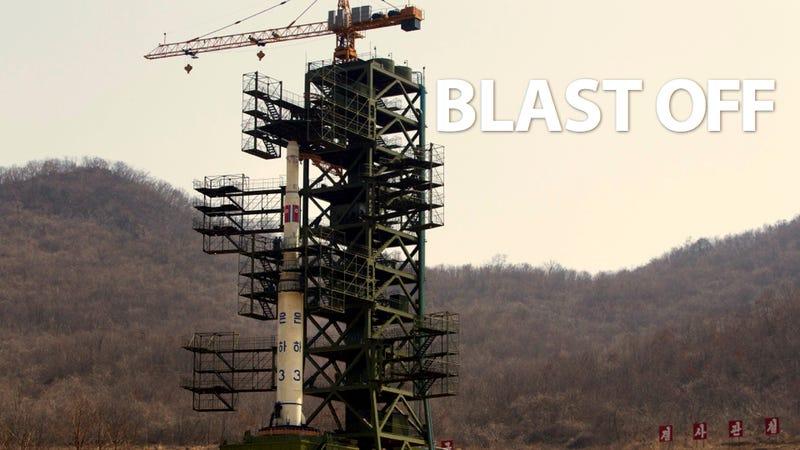 Illustration for article titled North Korea's Big Bad Missile Launch Begins (Updated)