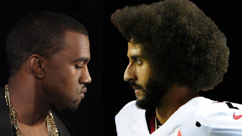 Kanye West; Colin Kaepernick
