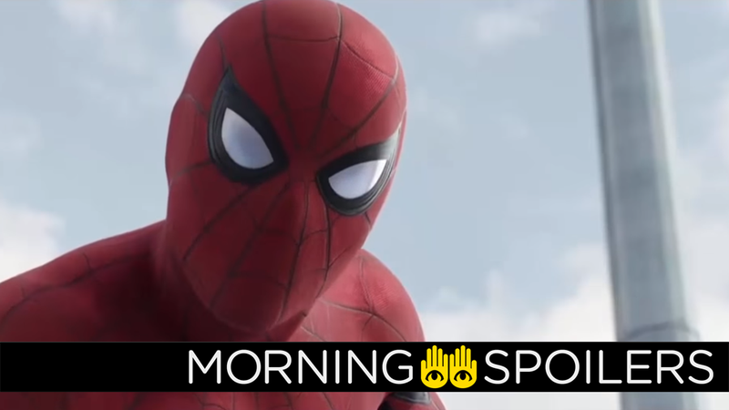 Illustration for article titled New Spider-Man: Homecoming Set Pictures Hint at the Return of a Familiar Character
