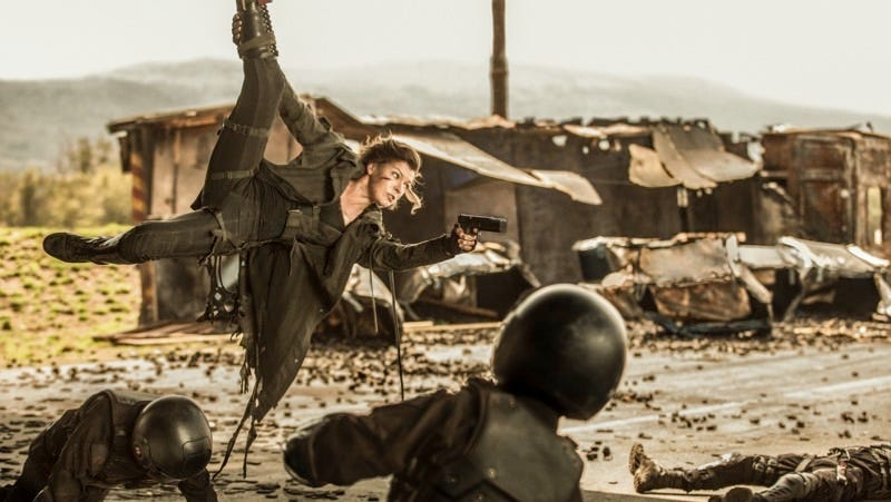 Milla Jovovich stars in Resident Evil: The Final Chapter. Image: Ilze Kitshoff  © 2016 Constantin Film Produktion GmbH