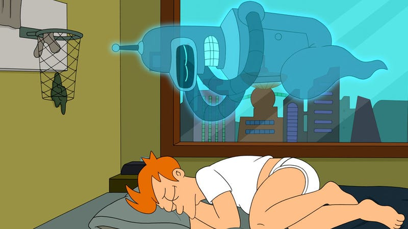 Illustration for article titled This Week's TV: The Afterlife, Futurama-Style. And Star Wars Cakes!