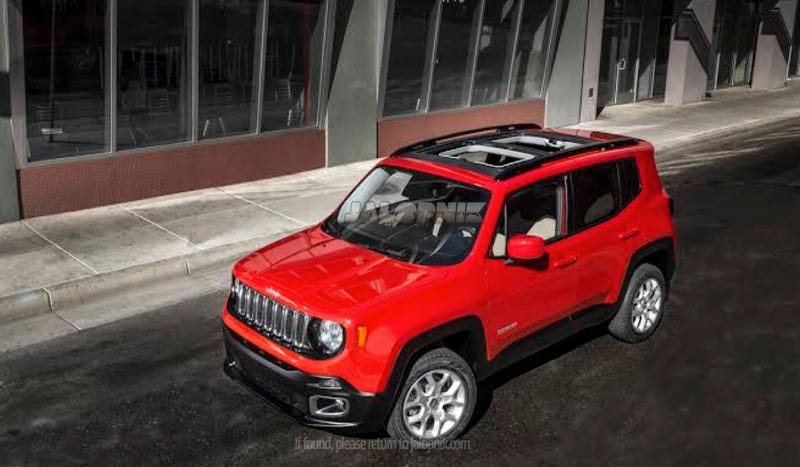 Illustration for article titled Jeep Renegade: Is This The MY SKY Roof?