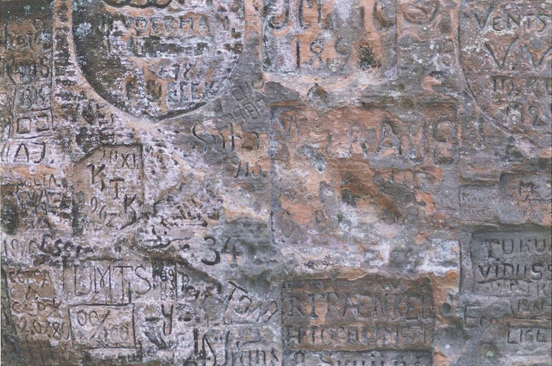 10 Pieces Of Nasty Ancient Graffitti