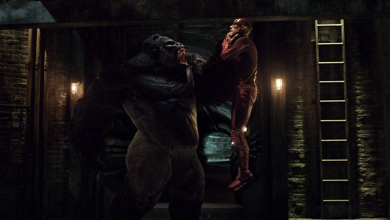 Illustration for article titled How The Flash Effects Team Used Comics to Bring Gorilla Grodd to Life